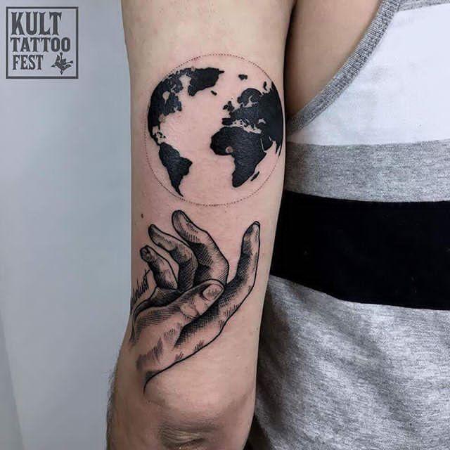 earth tattoo ideas