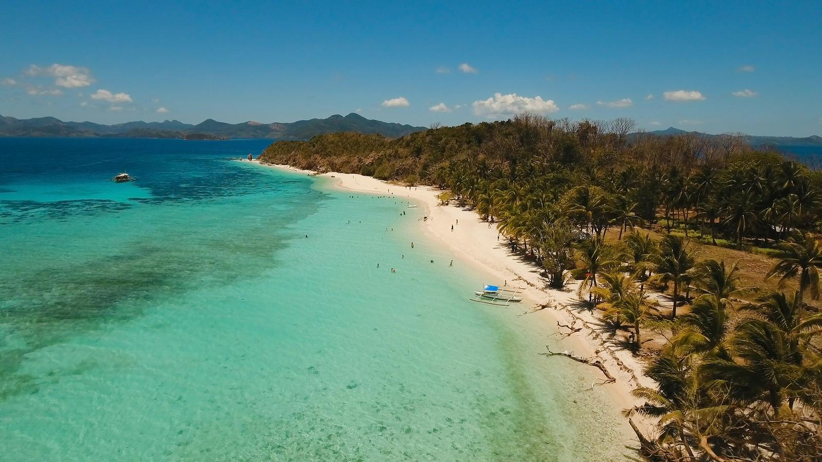 Malcapuya Beach | Bigstock Photo