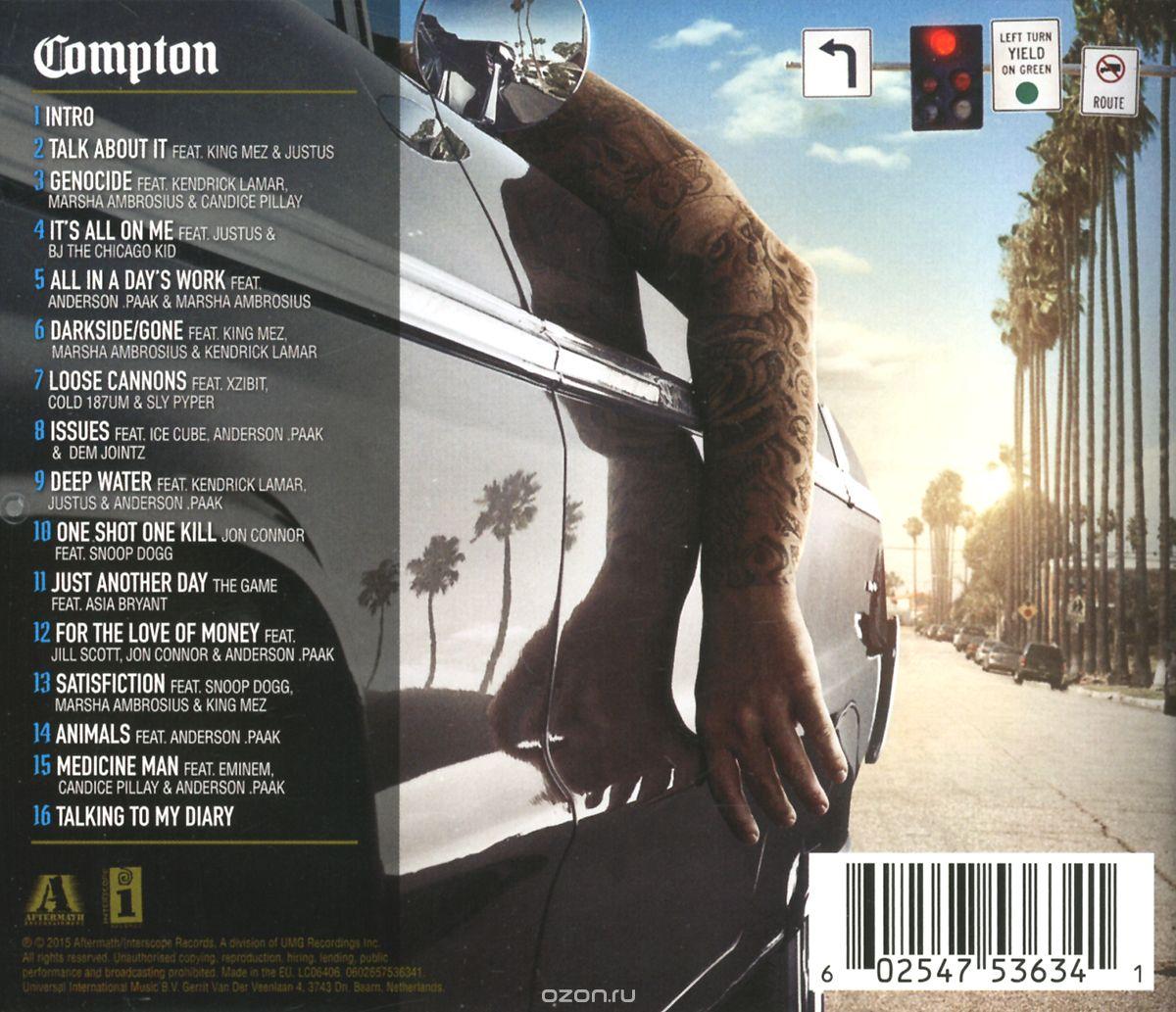 dr dre compton album zip file download