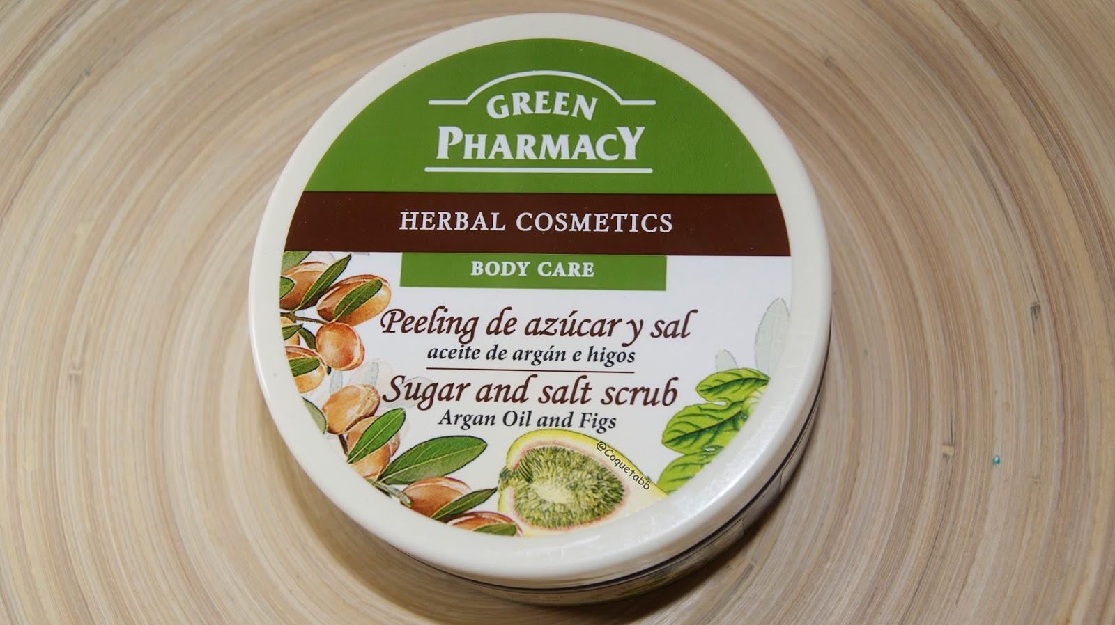 Resultado de imagen de green pharmacy peeling azucar y sal higos