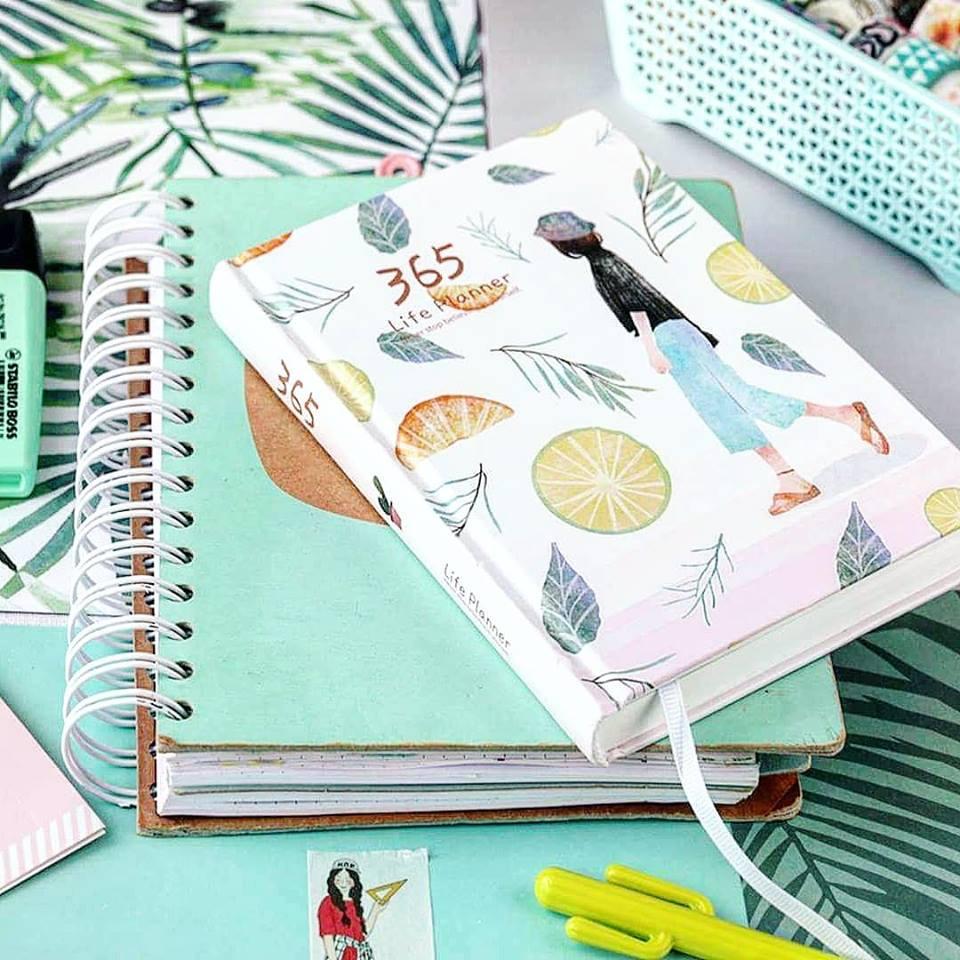 plan na życie, życiowy planer, kreatywny notes