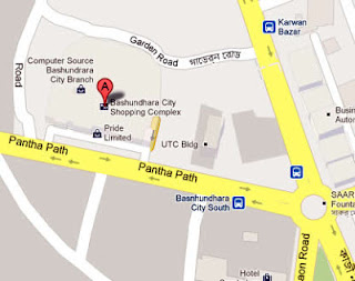 Bashundhara City, Shop#35-36,Block A,Level 6 map