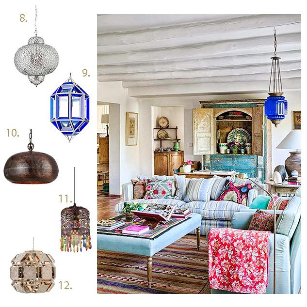 lamparas marroquis