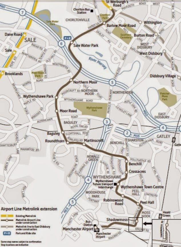 Vinces World New Metrolink line to the Airport