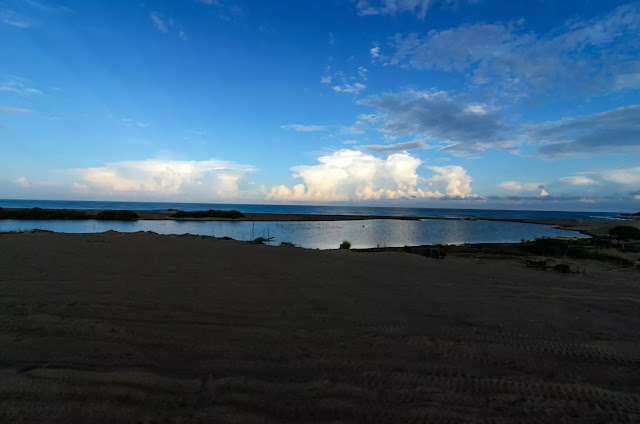 Culili Point Early Morning Coastal View Paoay Ilocos Norte Philippines