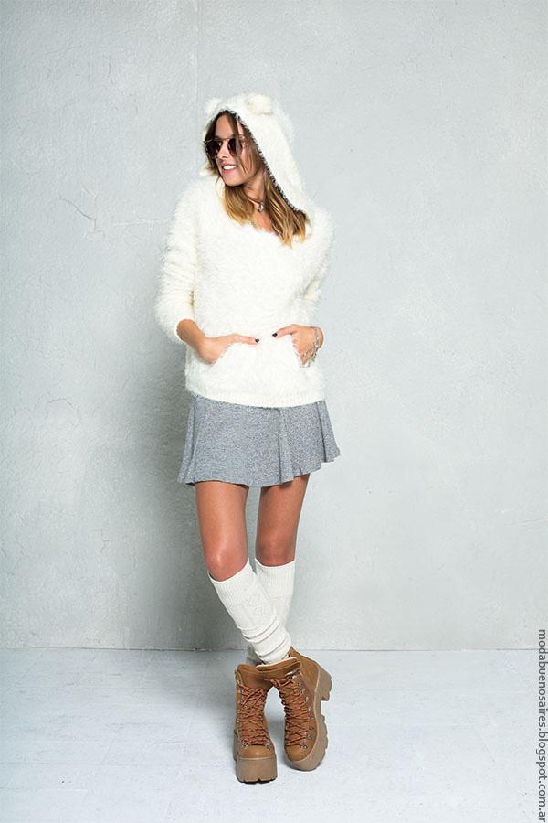 Moda 2016: Moda invierno 2016 ropa 47 Street minifaldas y sweaters.