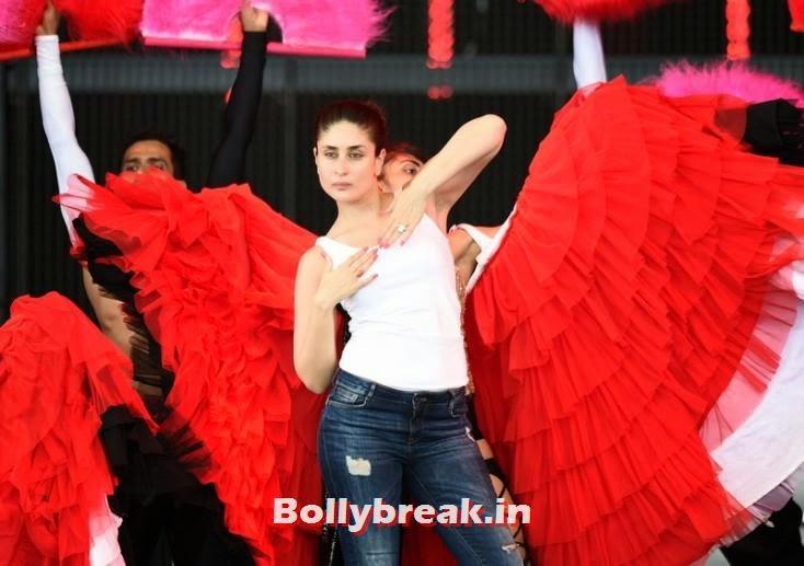 Kareena Kapoor and dancers