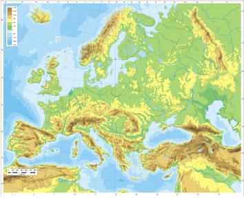 Cartina Politica Muta Dell Europa.Diario Di Scuola L Europa In 2c Perez