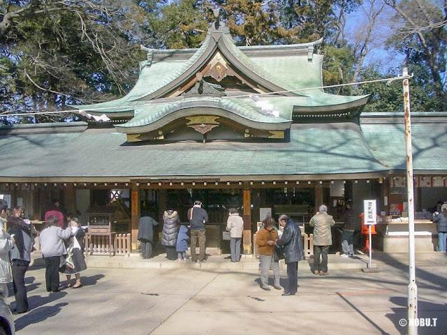 一言主神社(茨城県常総市)の拝殿