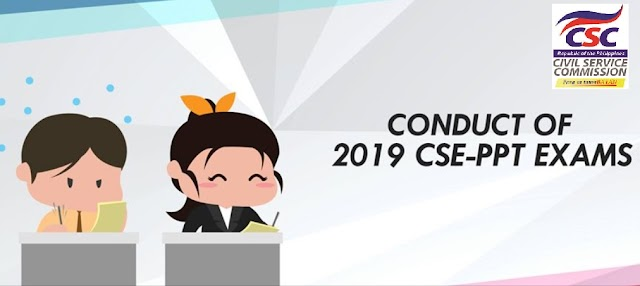 Conduct of 2019 CSE-PPT Exams