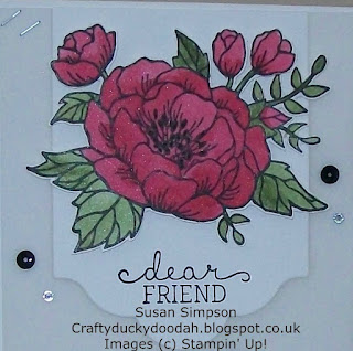 Stampin' Up! Susan Simpson Independent Stampin' Up! Demonstrator, Craftyduckydoodah!, Birthday Blooms,