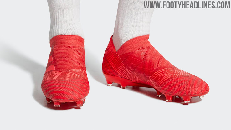free shipping 9205b b71cc Having skipped the previous Lone Hunter launch, all Nemeziz-wearing pros  will switch to this colorway once its released. This includes Lionel Messi  as ...