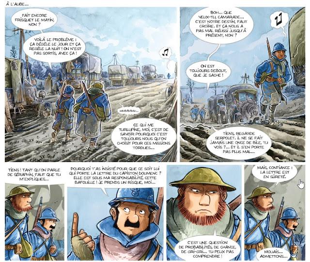 Les Godillots tome 4 - Palette, le Bourru et Serpolet partent en mission