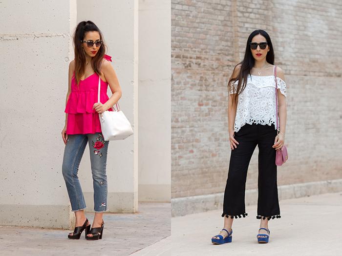 Resumen de los mejores looks streetstyle verano primavera de la blogger influencer de moda de Valencia