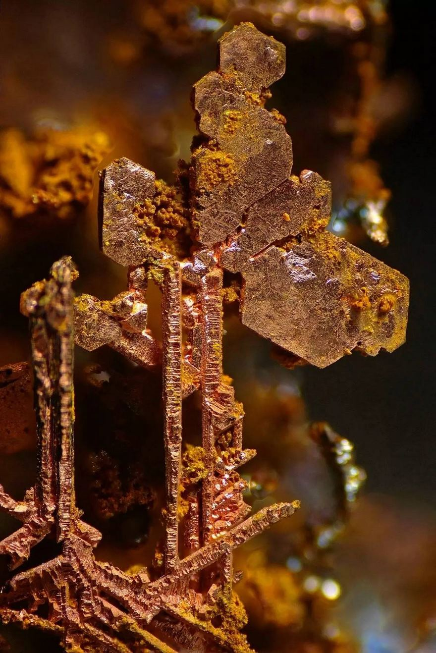 2016 Nikon Macro Photo Contest Winners Show The World Like You've Never Seen Before - Copper Crystals