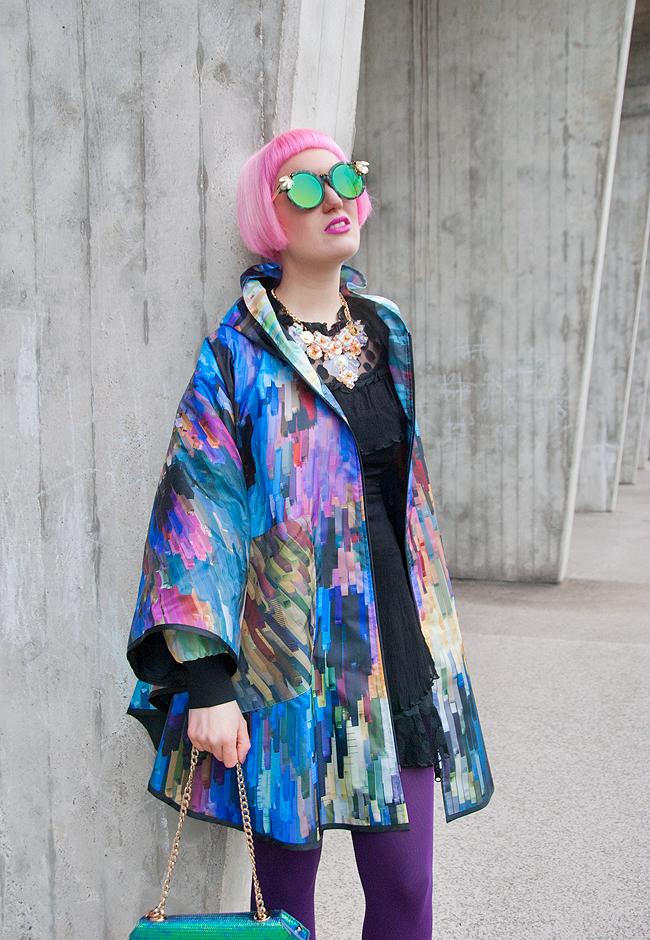 raincape, kanokkorn lamlert, blogger style