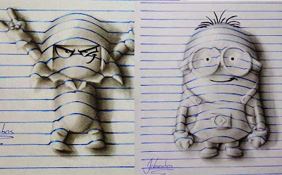 Obrad e arte y caricaturas Minions