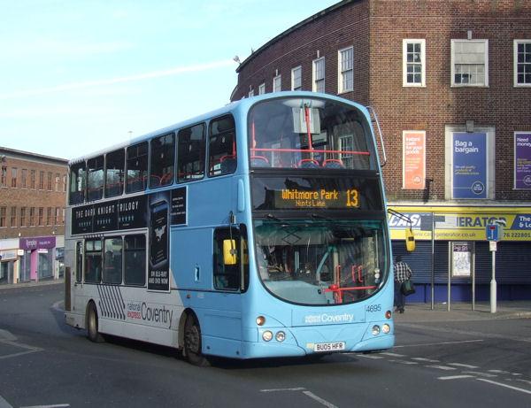 Random Streets Coventry Uk