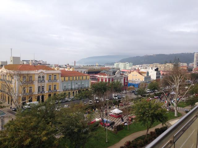 vista da cidade de setúbal