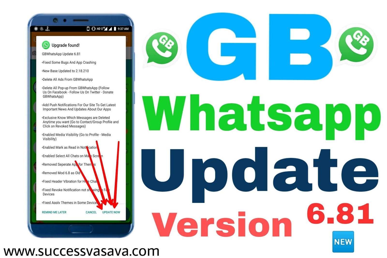 gb whatsapp 6.81
