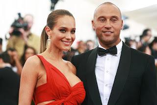 Derek Jeter And Wife Hannah