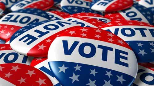 Americans vote