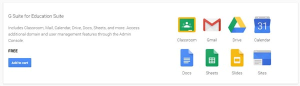 Produk Google for Education dari Google