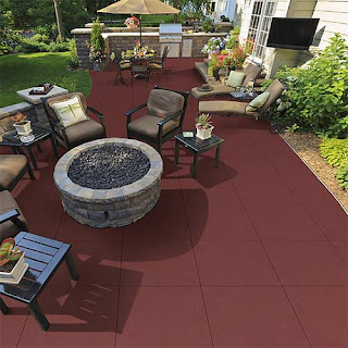 Greatmats outdoor flooring patio
