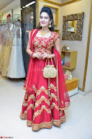 Jenny Honey in Stunning Dark Red Anarkali Dress at Splurge   Divalicious curtain raiser ~ Exclusive Celebrities Galleries 073.JPG
