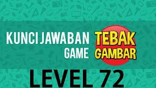 jawaban tebak gambar level 72