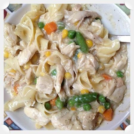 Chicken 'n' Noodles