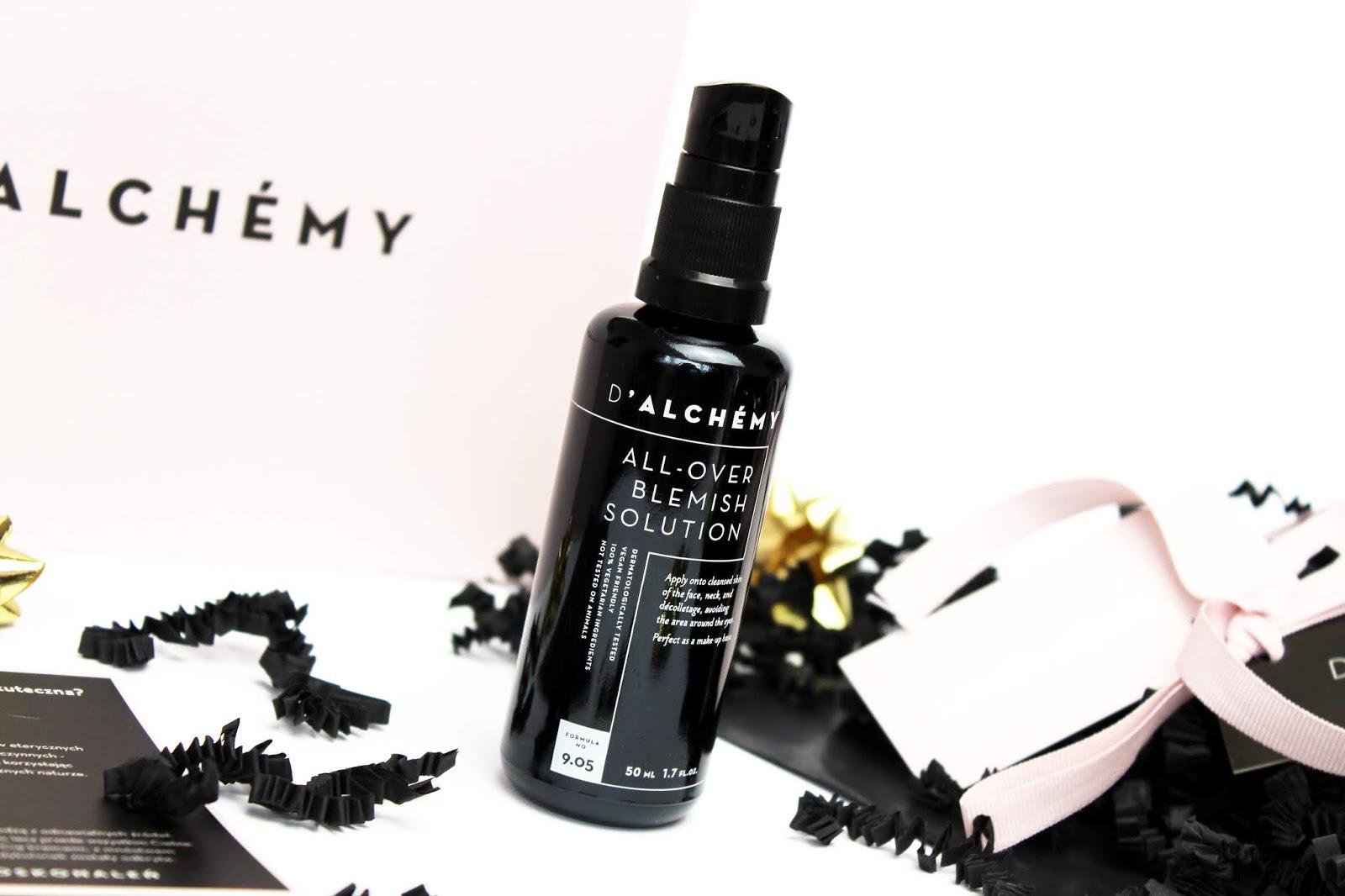 D'Alchemy, All Over Blemish Solution - Krem regulujący do cery tłustej i mieszanej
