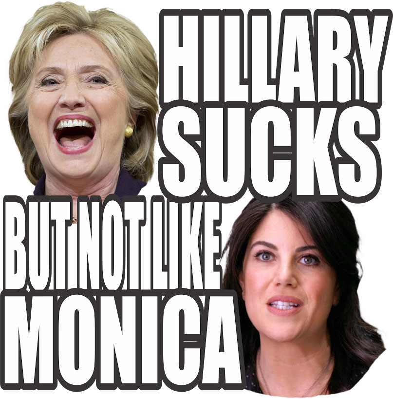 More, hillary suck pictures
