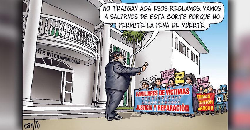 Carlincaturas Martes 07 Noviembre 2017 - La República