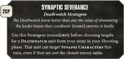 deathwatch stratagems analysis warlord trait