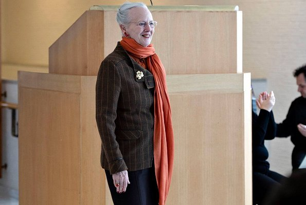 "Queen Margrethe II of Denmark attended the opening of ""Nordic Modernism – Inventing the Future"" exhibition"