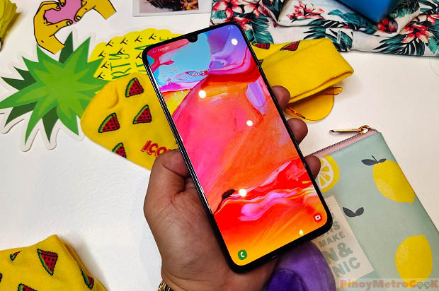 Samsung Galaxy A70 is officially announced in the Philippines