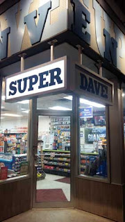 Entrance to Super Dave! Convenience