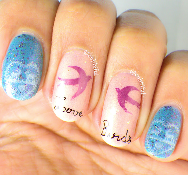 Love Stamping Nails