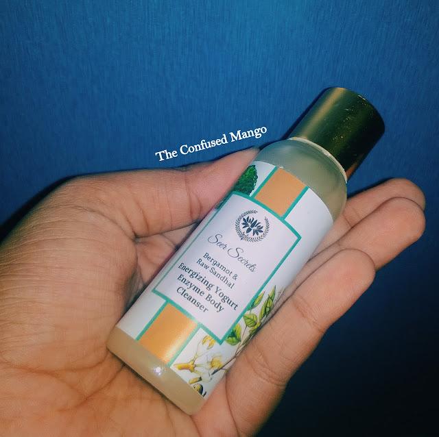 Product Review: Smoky Rose Geranium Hydrating Soy Milk Enzyme Body Cleanser by Seer Secrets