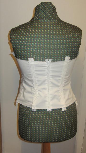 handmade wedding dress bodice