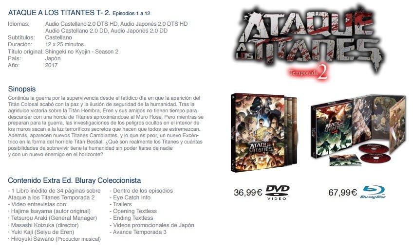 Ataque a los titanes T2