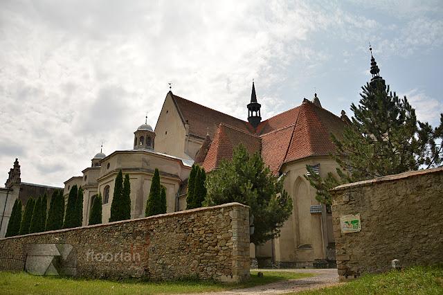 Panorama klasztoru w Henrykowie