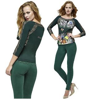 Bayan süet pantolon yeşil renk kombin