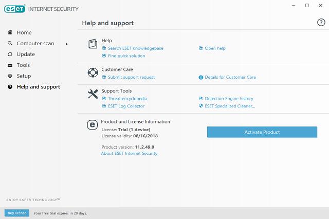 تحميل برنامج الحماية من الفيروسات ESET Internet Security
