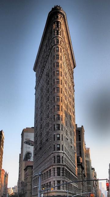 Top 5 arranha-céus em Nova York: Flatiron Building