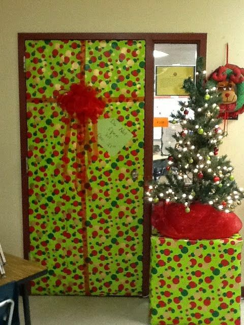 Simple As 1 2 3 Christmas Classroom Door Ideas