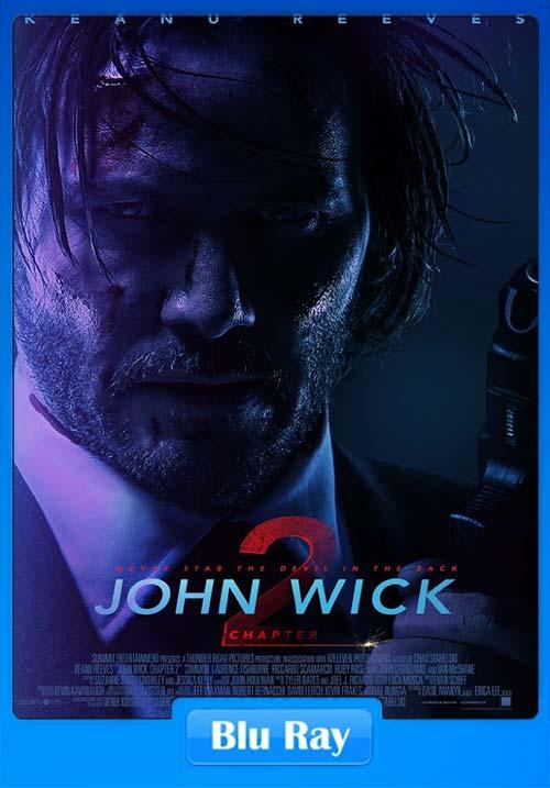 John Wick Chapter 2 2017 720p BluRay Dual Audio | 350MB 480p | 150MB HEVC Poster