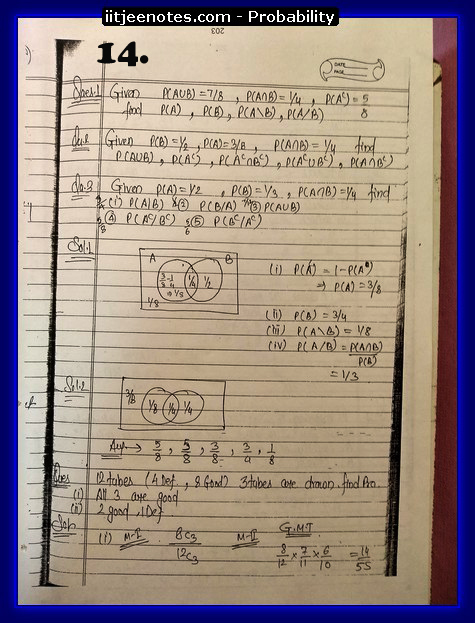 probability notes cbse4