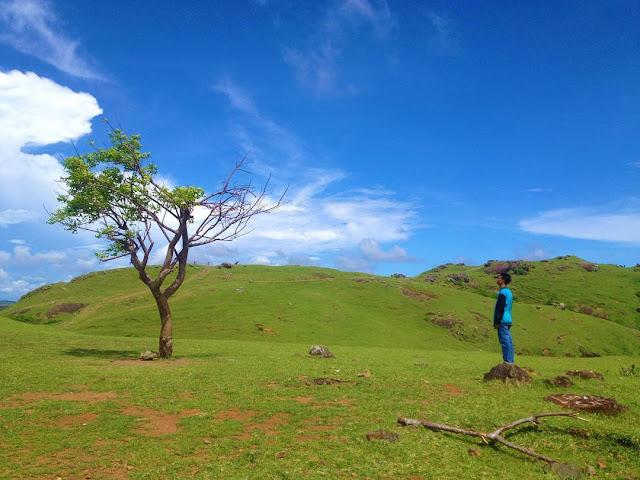 foto bukit merese lombok tengah